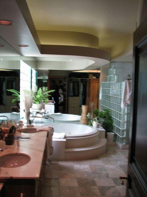 Hacienda Bathroom Design Paint Html on