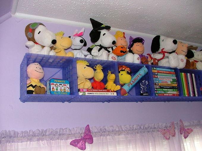 3 step storage solution, bedroom ideas, shelving ideas, storage ideas, Finished shelf