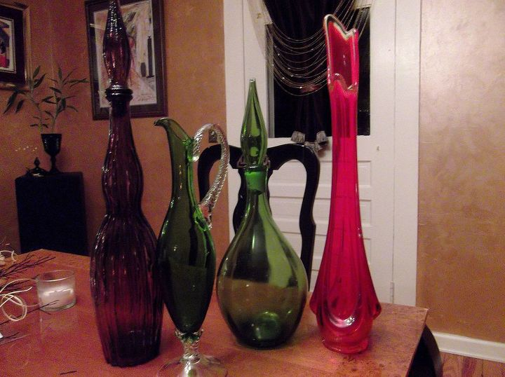 these vintage glassware are nice but don't know if they're keepers..