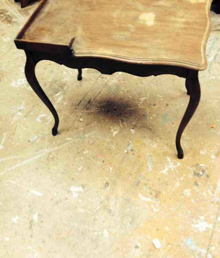 curvy legs made pretty, painted furniture