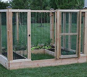 Diy Raised Bed Garden Enclosure, Diy, Gardening, Raised Garden Beds, Here S