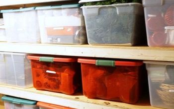 building storage shelves organizing the basement, organizing, shelving ideas, storage ideas, woodworking projects