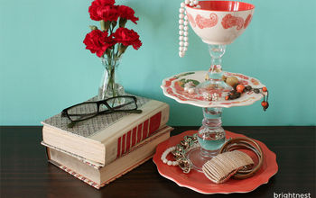 DIY Project: Turn Dinnerware Into a Jewelry Tray