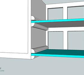 diy glass shelves in front of kitchen window hometalk rh hometalk com installing glass shelves in cabinets installing glass shelf on maytag refrig