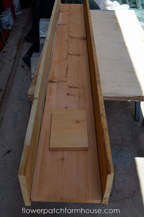 I dry fit the boards to see where I needed to trim.  Cedar fence boards are not strictly uniform in size and shape.