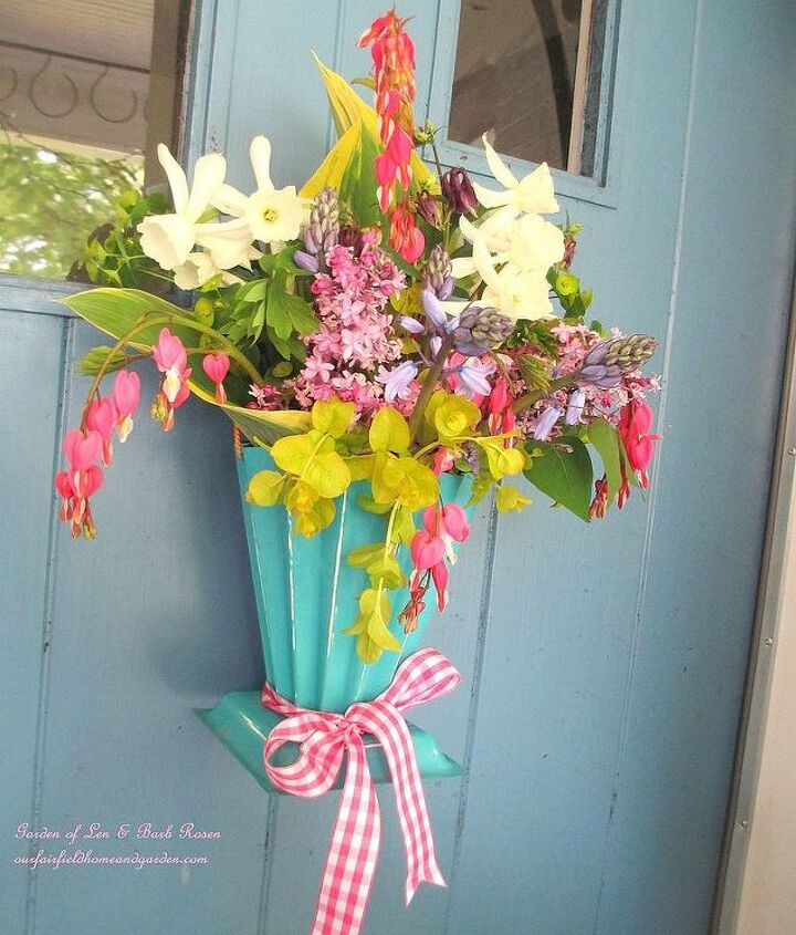 Hang a May Basket on your door instead of a wreath!