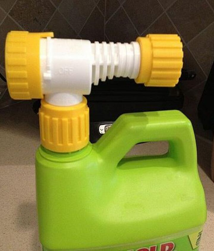 q can i reuse a hose end sprayer that i bought that had hose wash in it, repurposing upcycling