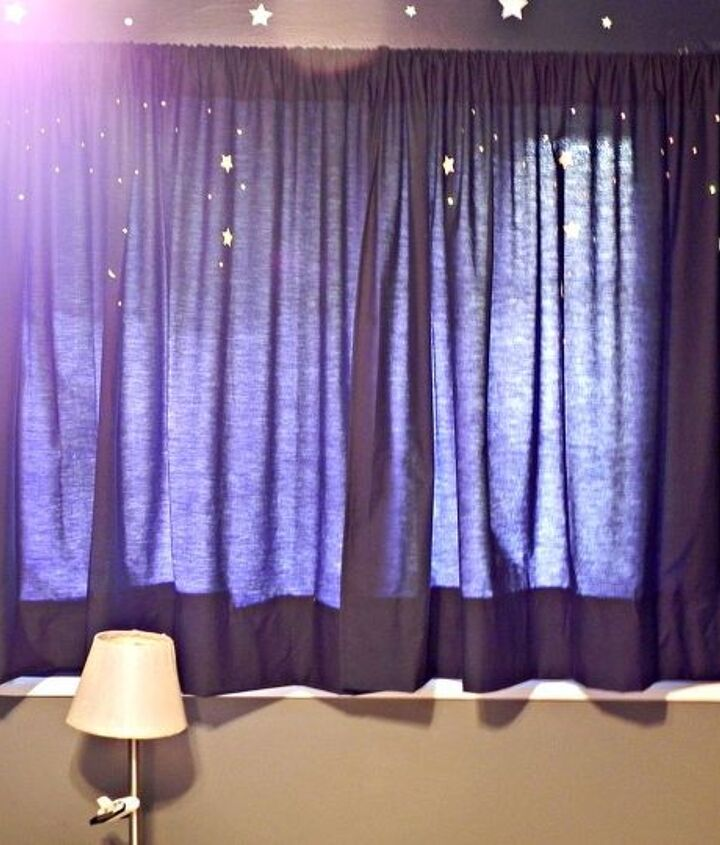 No-sew space curtains