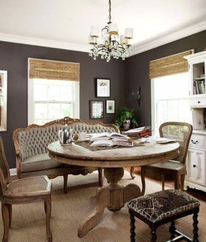 Dark greys can add warmth and coziness to any room when used correctly!
