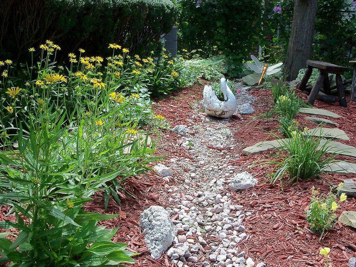 dry creek bed- so pleasant