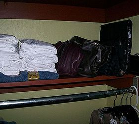 Make The Most Out Of A Small Closet, Cleaning Tips, Closet, Urban Living