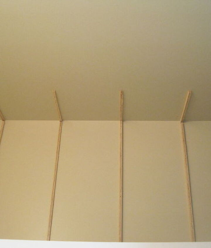 storage in small half bathroom, bathroom ideas, diy, how to, shelving ideas, storage ideas, urban living, We began by making wooden braces nailing them into the wall