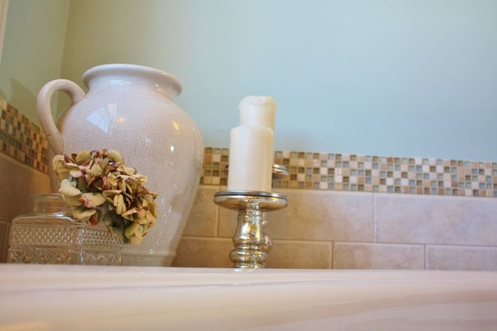 How To Add A Gl Stone Tile Border Hometalk