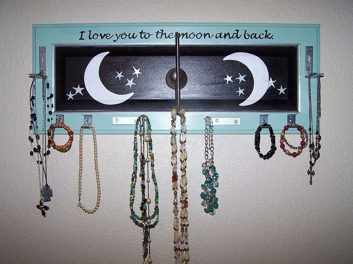 Moon and Back Jewelry Holder by GranArt