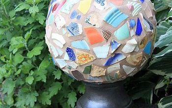 repurposed garden globe, crafts, gardening, repurposing upcycling, Read more at