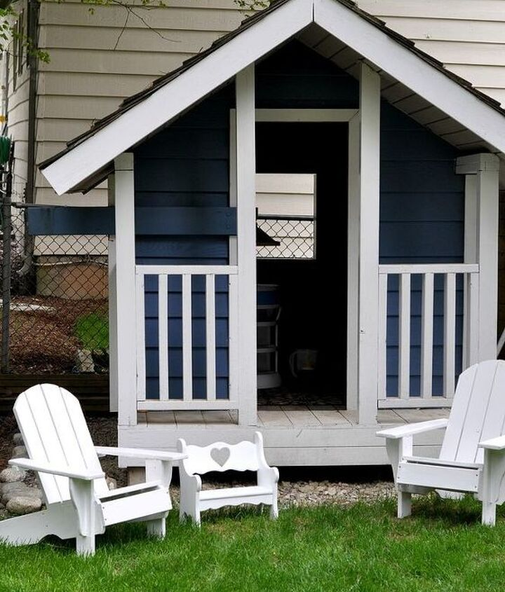 I've painted it and added some adirondack chairs.