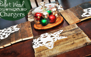 diy pallet wood chargers, home decor, pallet
