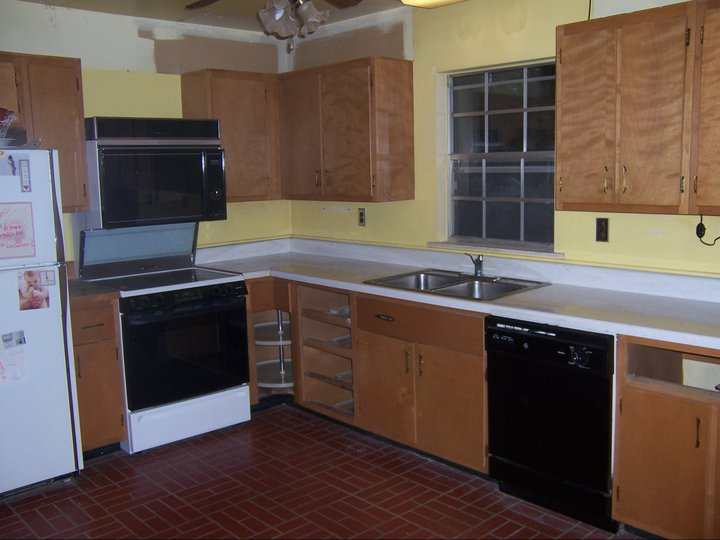my favorite room the kitchen, home decor, kitchen cabinets, kitchen design, painting, Before
