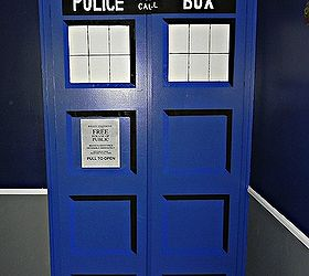 Diy Tardis Bedroom Closet, Bedroom Ideas, Doors, Painting, The Finished  Closet Doors