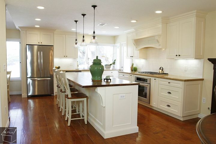 complete kitchen remodel with custom cabinets entertainment center, home improvement, kitchen cabinets, kitchen design
