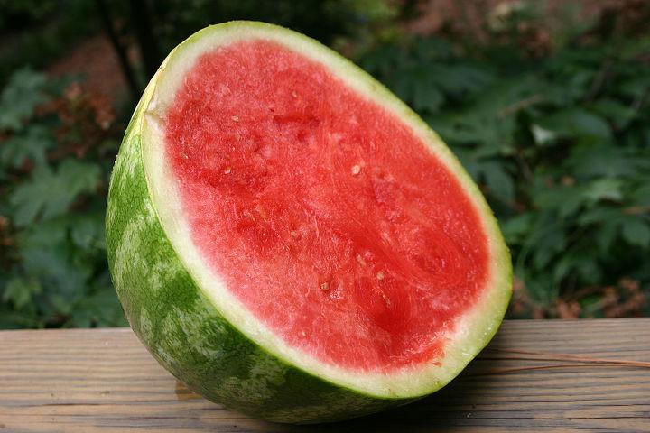 choosing a ripe melon