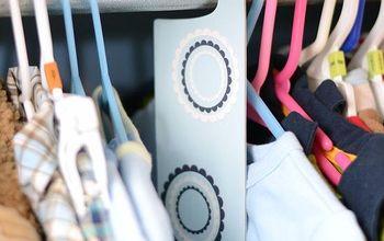 diy nursery closet dividers, cleaning tips, closet, crafts