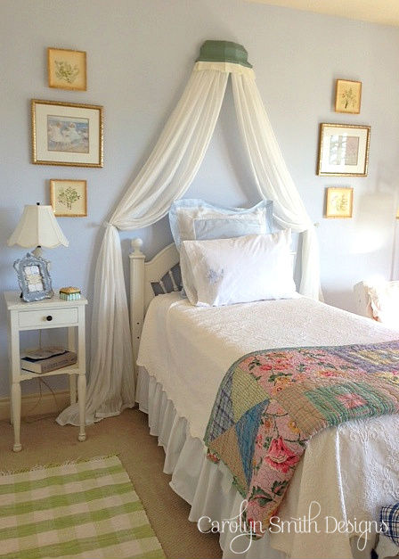 guest bedroom, bedroom ideas, home decor, painted furniture
