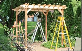 diy weekend pergola project, diy, outdoor living, woodworking projects, Your pergola is built