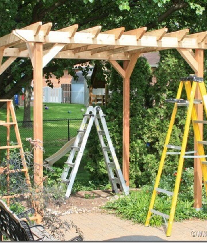 Your pergola is built!