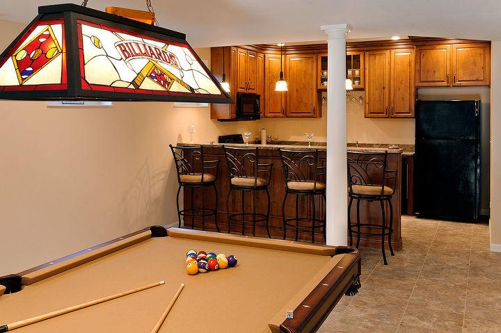 basement finish in belleville il, basement ideas, entertainment rec rooms, home decor
