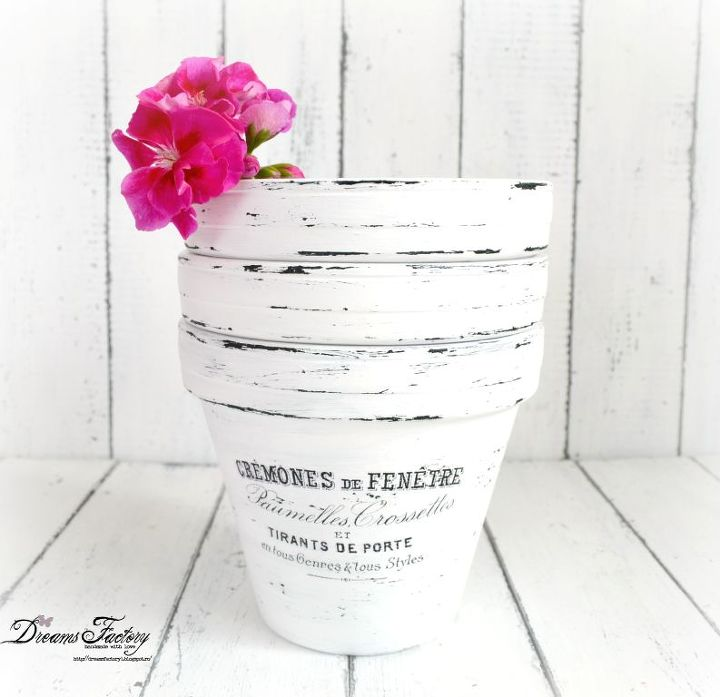 DIY French Made Pots With Waterslide Decals Hometalk - How to make waterslide decals at home