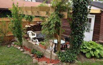 from dilapidated garage to the start of our english garden, decks, garages, gardening, outdoor living, Finished
