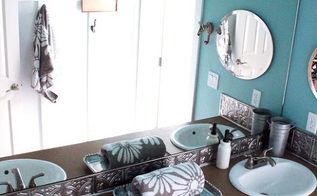 kids simple bathroom makeover before amp after, bathroom ideas, bedroom ideas, home decor