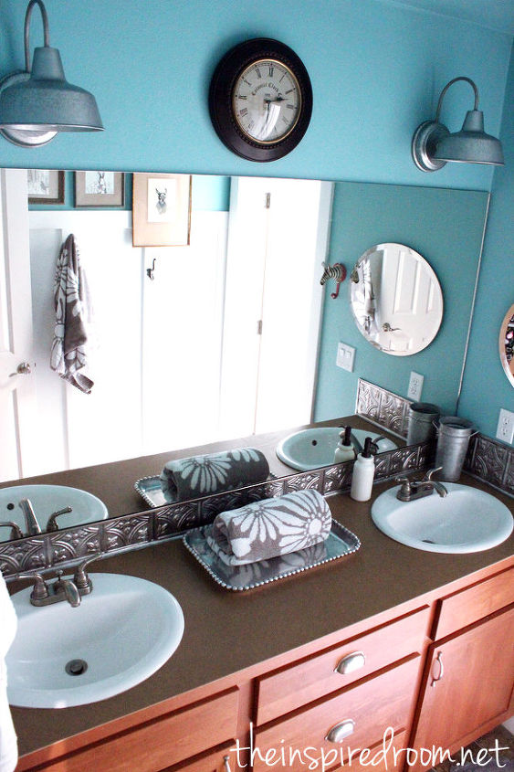 kids simple bathroom makeover before amp after, bathroom ideas, bedroom ideas, home decor