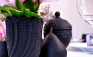using black in design and home decor, home decor, painting