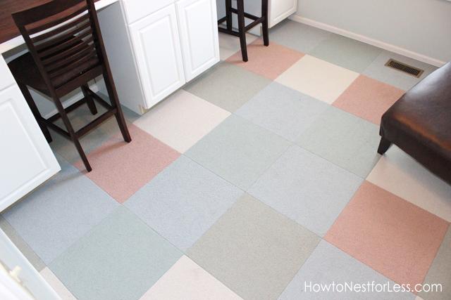 How To Install Carpet Tiles Flooring Tile