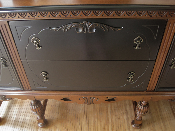 antique sideboard no 2 what s your preference, painted furniture