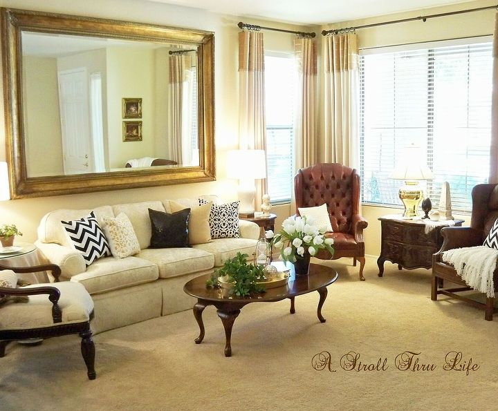 pulling it all together, home decor, living room ideas, painted furniture