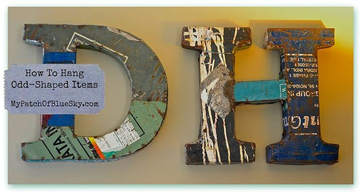 how to hang odd shaped items, home maintenance repairs, how to, wall decor