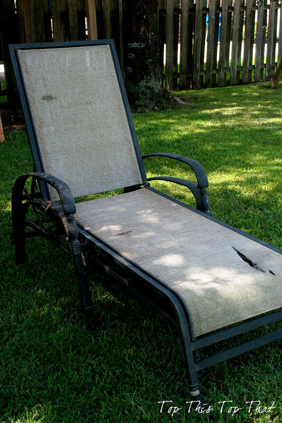 Lounge Chair before