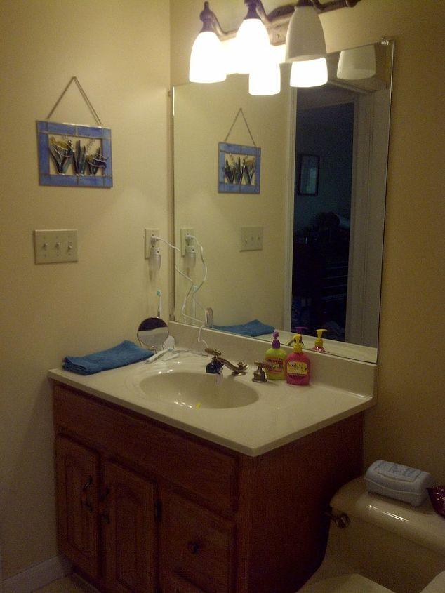 bathroom project, bathroom ideas, doors, home decor, Before