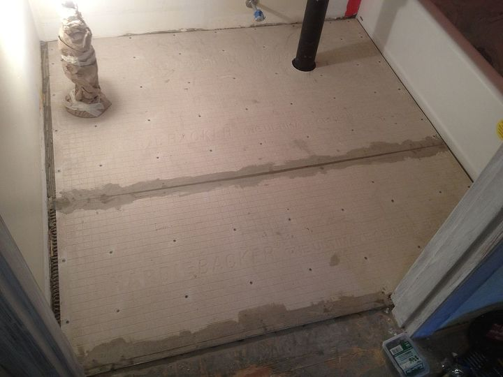 hardiebacker your tile floor isn t moving once it s installed, flooring, tile flooring, tiling