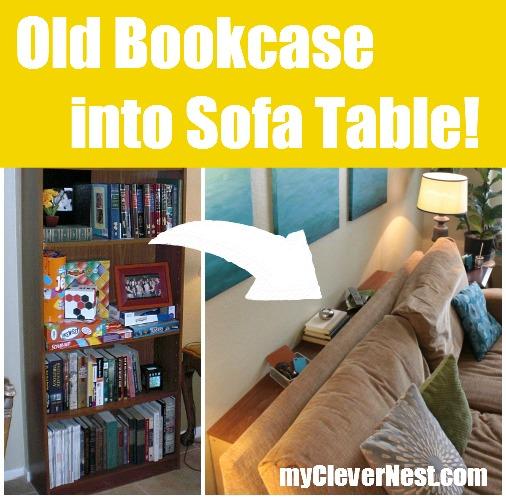 Bookcase reimagined!
