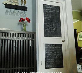 chalkboard door make your own chalk paint chalkboard paint doors home decor & Chalkboard Door: Make Your Own | Hometalk