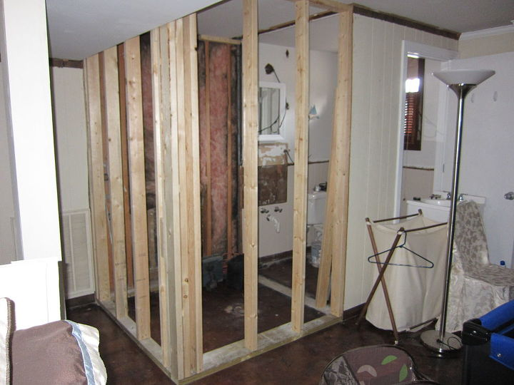 diy bathroom addition