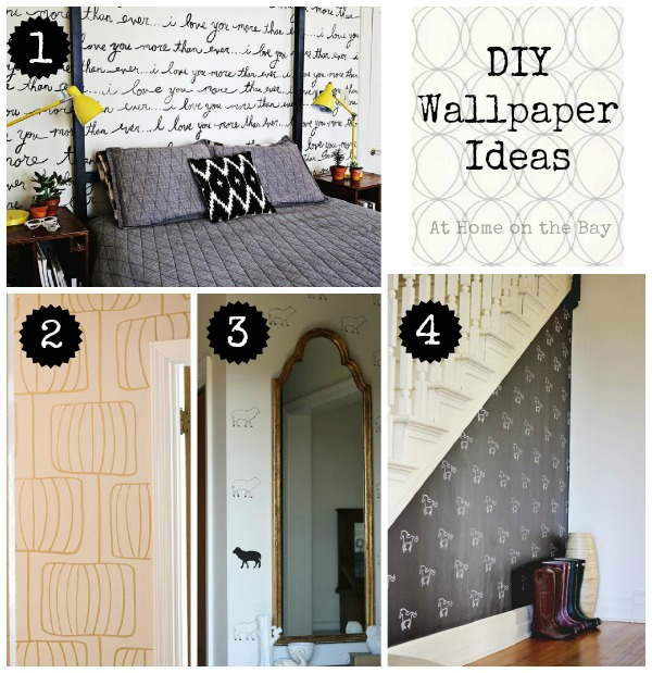 diy wallpaper ideas, paint colors, wall decor, Can you believe these are not real wallpaper What is even more amazing is that they were all made with sharpie paint pens