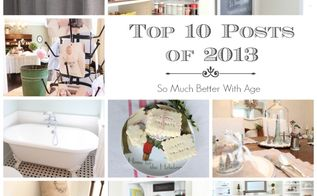 top 10 posts of 2013, cleaning tips, closet, home decor