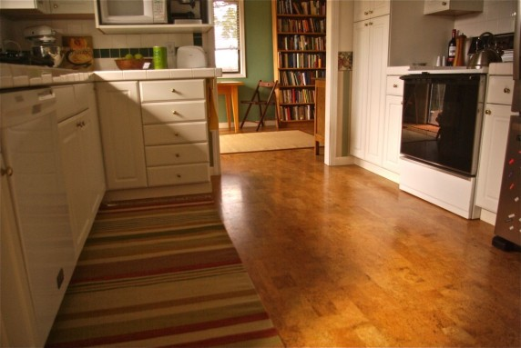 everything you d ever want to know about cork flooring, flooring, home decor, Kitchen after with cork