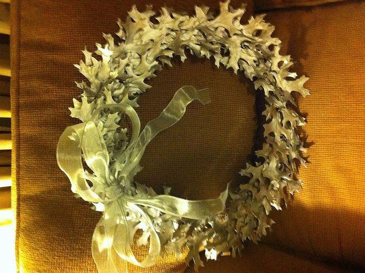 silver wreath, seasonal holiday d cor, wreaths