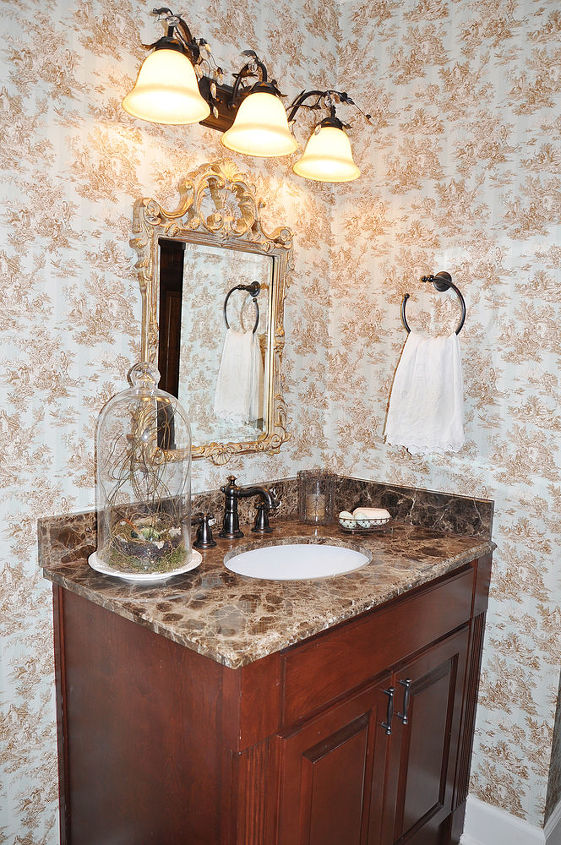 powder room before amp afte, home decor